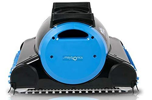 Dolphin Nautilus Automatic Robotic Pool Cleaners with Dual Filter Cartridges, Two Scrubbing Brushes and Tangle-Free Swivel Cord, Ideal
