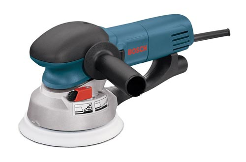"Bosch Power Tools - 1250DEVS - Electric Orbital Sanders, Polisher - 6.5 Amp, Corded, 6"""" Disc Size - features Two Sanding Modes"