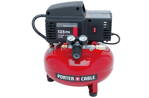 PORTER-CABLE PCFP02003 3.5-Gallon 135 PSI Pancake Compressors