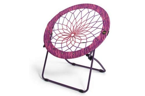 Bunjo Bungee Chairs Pink/Purple Zebra Print