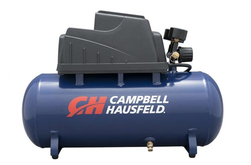 Air Compressors, Portable, 3 Gallon Horizontal, Oilless