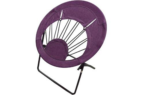 Impact Canopy 0460020008VC Folding Bungee Chairs, Purple