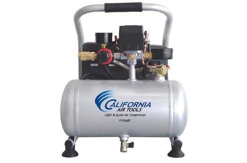 California Air Tools CAT-1P1060S Light & Quiet Portable Air Compressors, Silver
