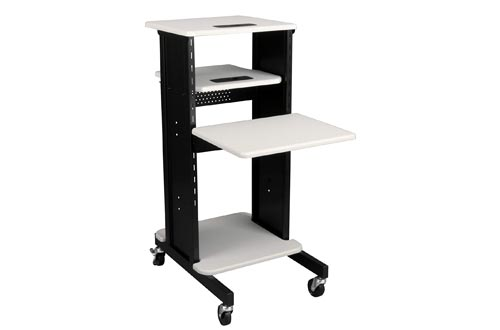 Norwood Commercial Furniture Laptop Caddy Carts Presentation Station, NOR-TY-1000