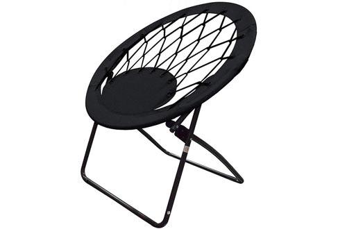 Impact Canopy 460060002-VC Web Folding Bungee Chairs, Black