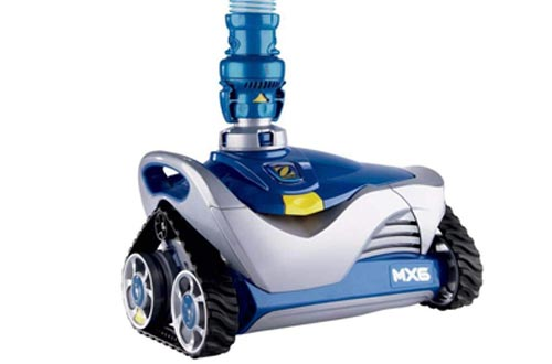 Zodiac MX6 In-Ground Suction Side Pool Cleaners, Blue/Gray