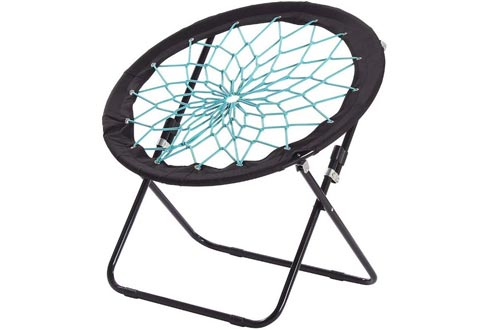 CampLand Bunjo Bungee Dish Chairs Folding Camping Relax Chairs