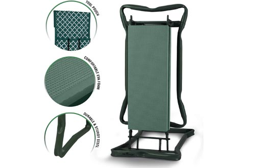 Garden Kneelers And Seat - Protects Your Knees, Clothes From Dirt & Grass Stains - Foldable Stool