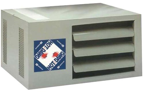 Modine HD45AS0111Natural Gas Hot Dawg Garage Heaters 45,000 BTU with 80-Percent Efficiency