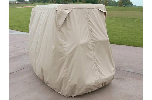 Covermates – Golf Cart Covers – 48W x 96D x 64H – Elite Collection – 3 YR Warranty – Year Round Protection