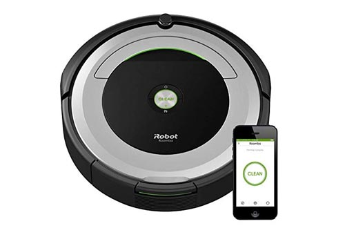 iRobot Roomba 690 Robot Vacuums-Wi-Fi Connectivity, Works with Alexa, Good for Pet Hair, Carpets, Hard Floors, Self-Charging