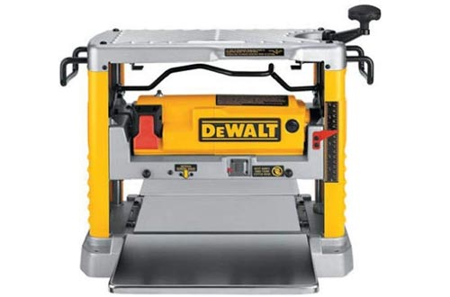 DEWALT Benchtop Planers, Single Speed, 15-Amp, 12-1/2-Inch (DW734)