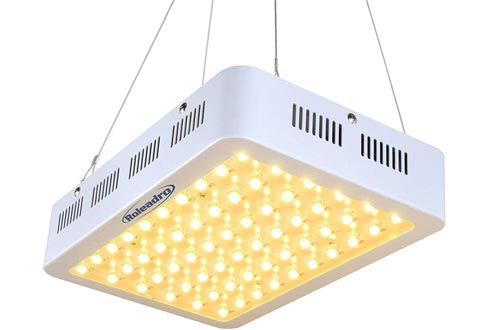 Roleadro 600W LED Grow Light 2nd Generation Series Plant Lights Full Spectrum with Daisy Chain for Indoor, Greenhouse, Hydroponics Veg and Bloom