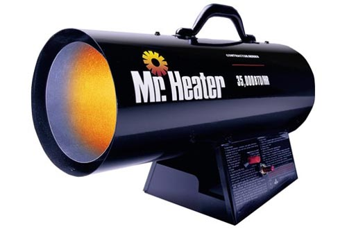 Mr. Heater 35,000 BTU Propane Forced-Air Heaters #MH35FA