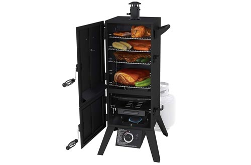 "Dyna-Glo DGY784BDP 36"" Vertical LP Gas Smokers"