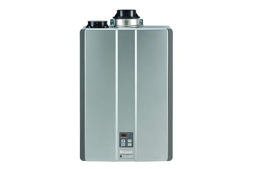 Rinnai RUC98iN Ultra Series Indoor Natural Gas Tankless Water Heaters, Twin Pipe