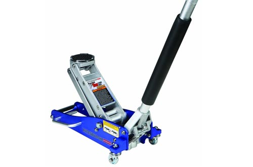 1.5 Ton Compact Aluminum Racing Jacks with Rapid Pump