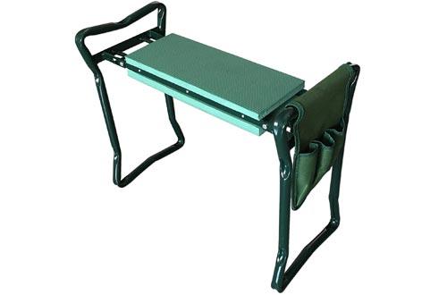 SueSport Folding Garden Bench Seat Stool Kneelers