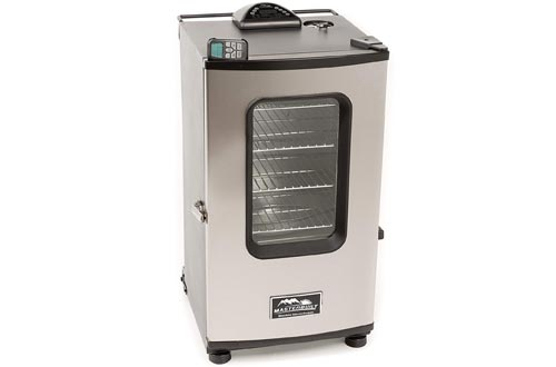 Masterbuilt 20070411 30-Inch Top Controller Electric Smokers with Window and RF Controller