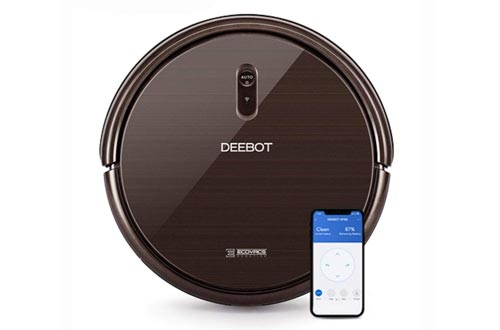 Ecovacs DEEBOT N79S Robotic Vacuums Cleaner with Max Power Suction, Upto 110 Min Runtime, Hard Floors and Carpets, Works with Alexa, App Controls, Self-Charging, Quiet