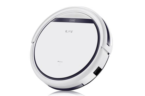 ILIFE V3s Pro Robot Vacuums Cleaner, Tangle-free Suction , Slim, Automatic Self-Charging Robotic Vacuum Cleaner, Daily Schedule Cleaning, Ideal For Pet Hair,Hard Floor and Low Pile Carpet