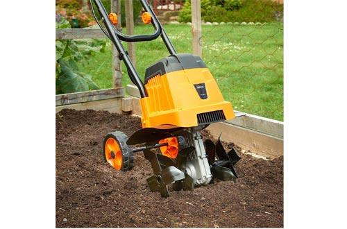 VonHaus 12.5-Inch 7 Amp Front Tine Garden Electric Tillers Lawn Cultivator