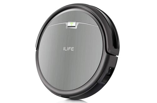ILIFE A4s Robot Vacuums Cleaner with Max Power Suction, Up to 120mins Run time, For Hard Floors and thin Carpets