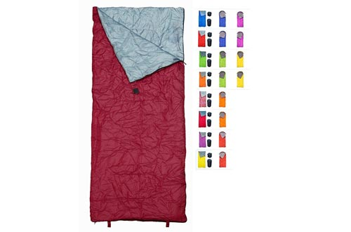 REVALCAMP Sleeping Bags Indoor & Outdoor Use. Great for Kids, Boys, Girls, Teens & Adults. Ultralight and Compact Bags are Perfect for Hiking, Backpacking & Camping