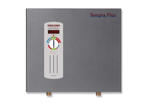 Stiebel Eltron 224199 240V, 1 Phase, 50/60 Hz, 24 kW Tempra 24 Plus Whole House Tankless Electric Water Heaters, Advanced Flow Control