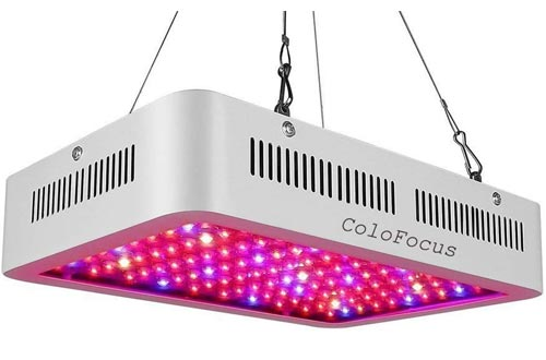 ColoFocus 1000W Double Chips Indoor LED Plant Grow Lights Kit, Full Specturm