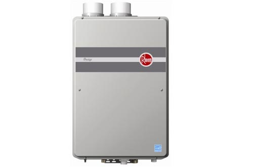 Rheem RTGH-95DVLN 9.5 GPM Indoor Direct Vent Tankless Natural Gas Water Heaters