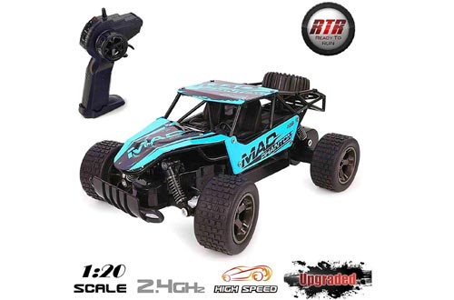 ToysUkids RC Cars, Terrain RC Car, Remote Control Car, All Terrain Remote Control High-Speed Telecar GFF
