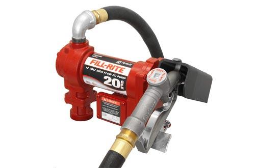 "FILL-RITE, FR4210G, 12V DC HI-Flow Pumps Suction Pipe 1""X12' Hose 1"