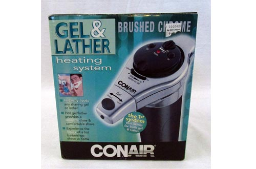 Conair HGL1 Combination Hot Gel/Lather Machines, Black