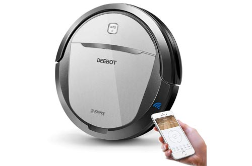 ECOVACS DEEBOT N79 Robotic Vacuums Cleaner with Strong Suction, for Low-pile Carpet, Hard floor, Wi-Fi Connected