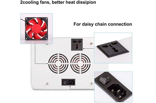 Roleadro 600W LED Grow Light 2nd Generation Series Plant Light Full Spectrum with Daisy Chain