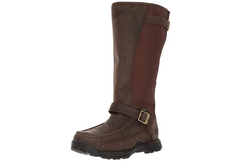 "Danner Men's Sharptail Snake Boot 17"" Dark Brown Hunting Boots"