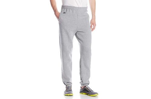 Russell Athletic Men's Dri-Power Closed Bottom Sweatpants with Pockets
