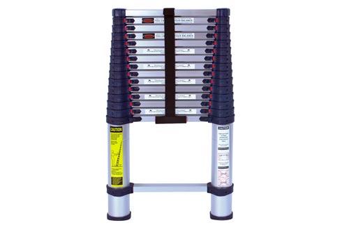 Xtend & Climb 785P Aluminum Telescoping Ladders Type I Professional Series, 15.5-Foot