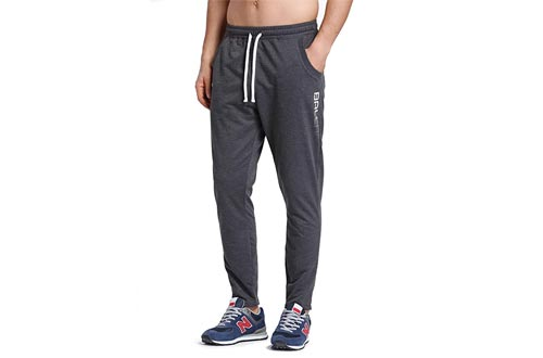 BALEAF Men's Tapered Athletic Running Pants Sports Joggers Workout Sweatpants with Pockets
