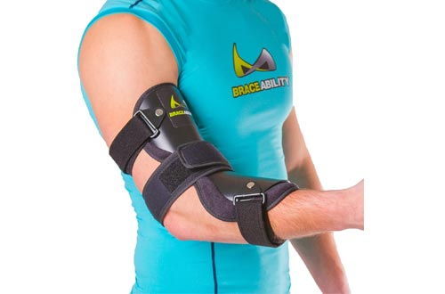 BraceAbility Cubital Tunnel Syndrome Elbow Brace